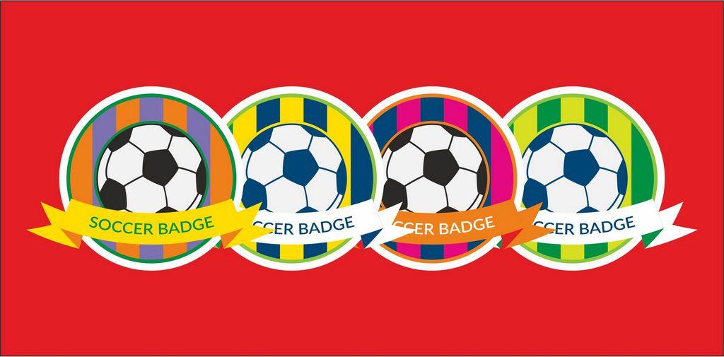 Логотипы футбольного клуба в разных цветах